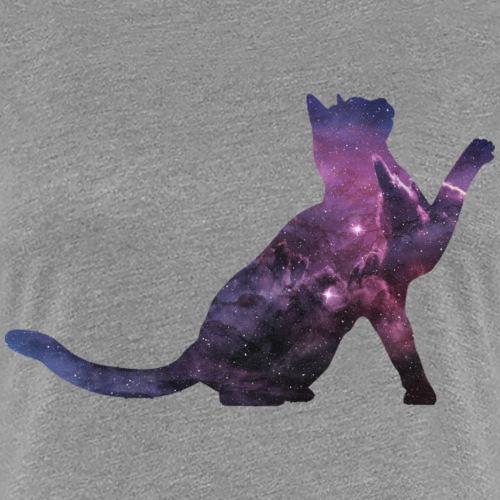 Space Cat - Frauen Premium T-Shirt