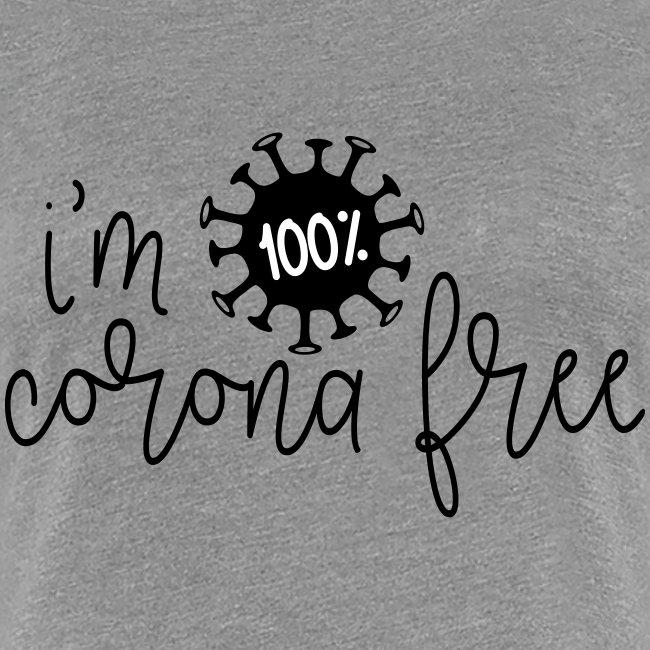 Ik ben coronavirus vrij. Stop de coronavirus