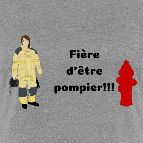 Fière d'etre pompier!