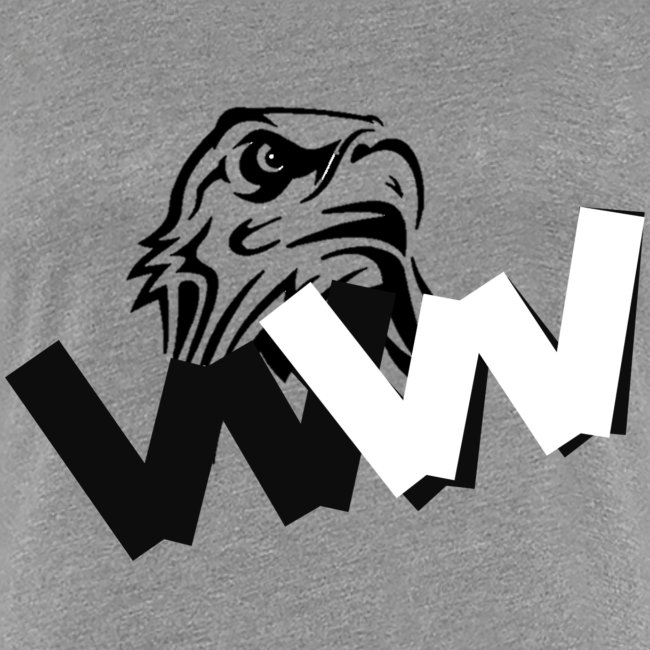 White and Black W with eagle