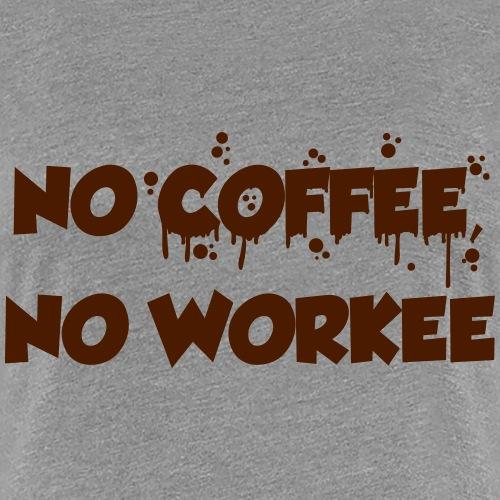 coffee - Vrouwen Premium T-shirt