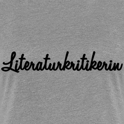 Literaturkritikerin - Frauen Premium T-Shirt