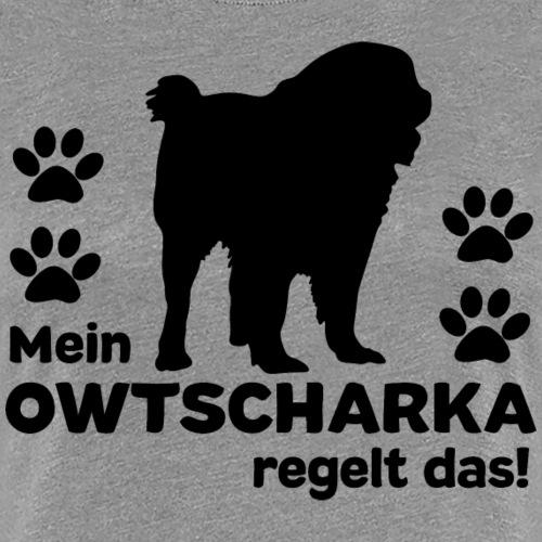 Owtscharka T-Shirt Kaukasischer Schäferhund - Frauen Premium T-Shirt