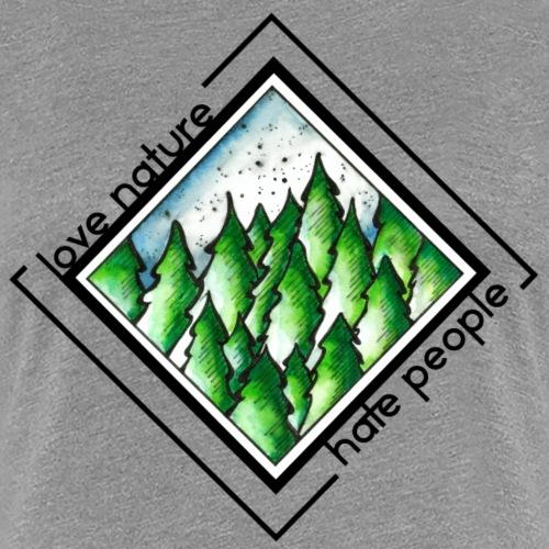 Love Nature - Frauen Premium T-Shirt
