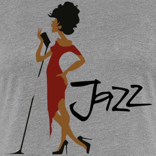 Jazzsängering /Jazz Singer - Frauen Premium T-Shirt