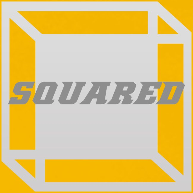 Squared Apparel Logo White / Gray