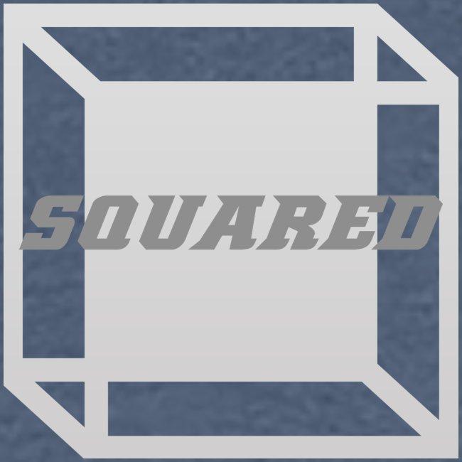 Squared Apparel Logo White / Gray
