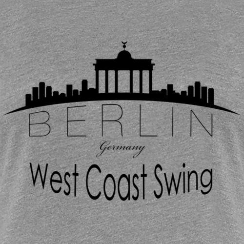 WCS-Logo-schwarz - Frauen Premium T-Shirt