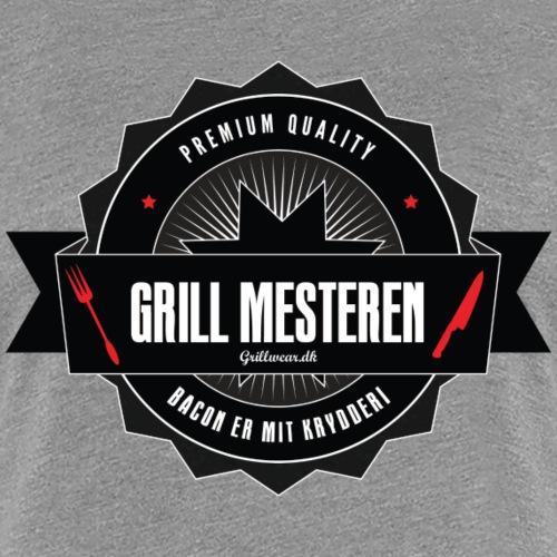 GRILLMESTEREN1 png - Dame premium T-shirt
