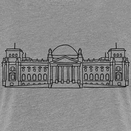 Bundestag in Berlin - Frauen Premium T-Shirt