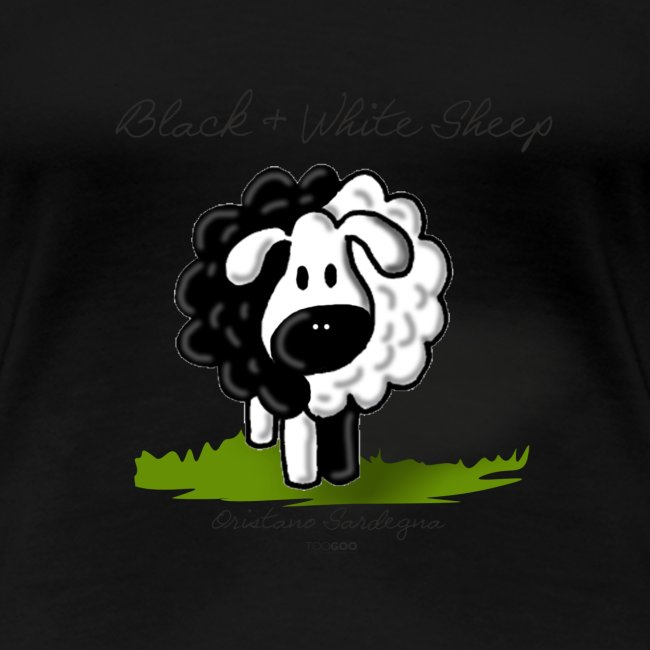 B W Sheep green png