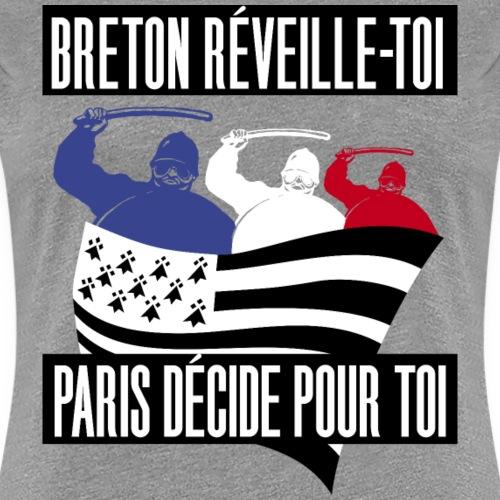 BRETON RÉVEILLE TOI - T-shirt Premium Femme