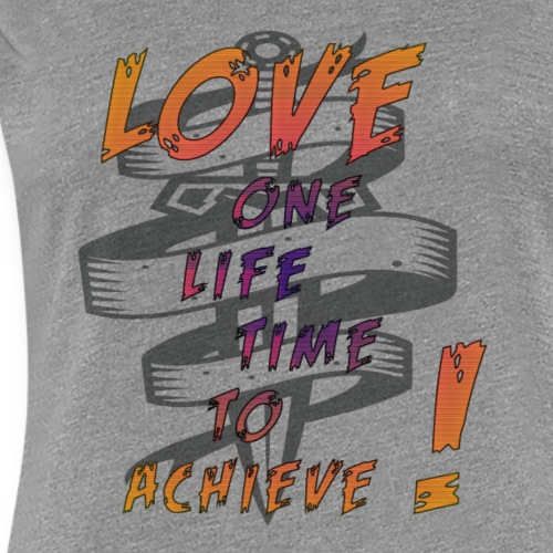 LOVE REMAINS - T-shirt Premium Femme
