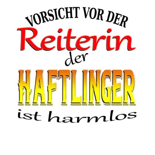 Vorsicht vor der Reiterin der Haftlinger ist... - Frauen Premium T-Shirt