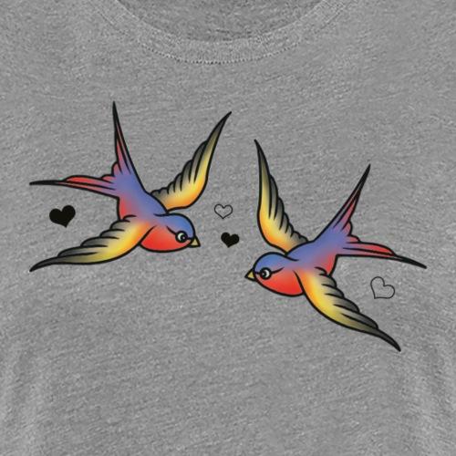 Classic Swallows - Women's Premium T-Shirt