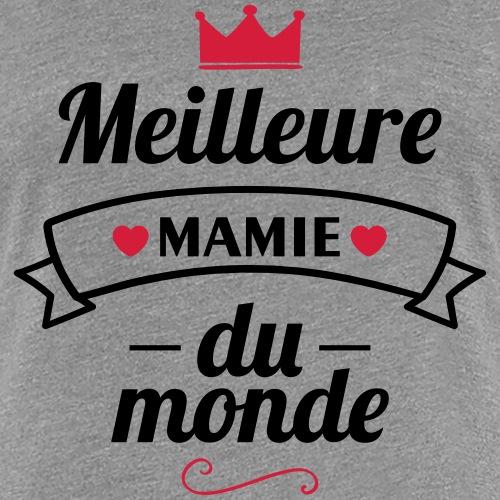 meilleure mamie couronne,cadeau grand-mère - T-shirt Premium Femme