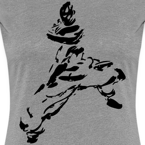 kungfu - Women's Premium T-Shirt