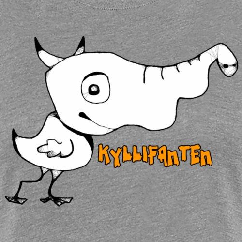 kyllifant - Dame premium T-shirt