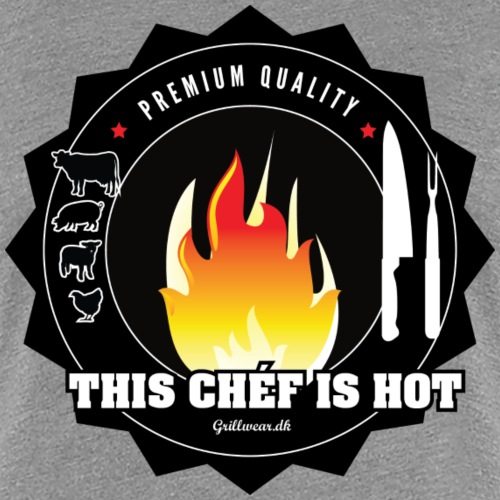 chefhot png - Dame premium T-shirt