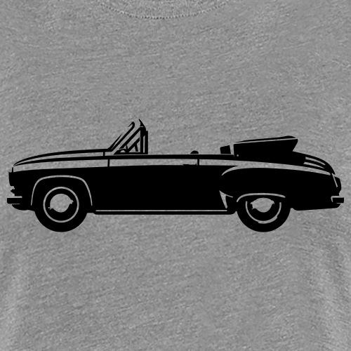 Vintage car cabriolet - Women's Premium T-Shirt