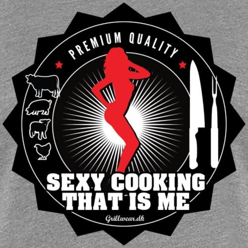 SEXYCOOKING png - Dame premium T-shirt