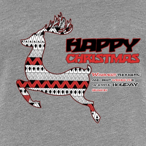 happy christmas - T-shirt Premium Femme