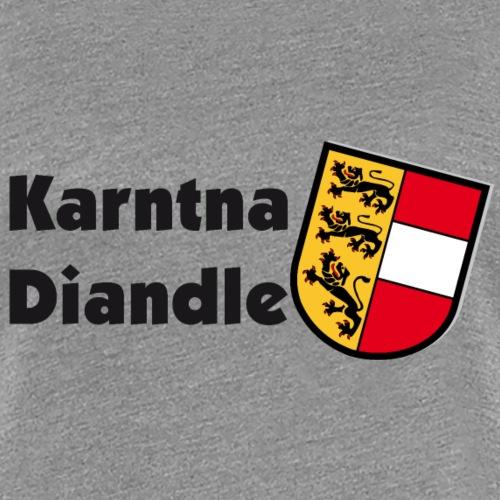 Karntna Diandle - Frauen Premium T-Shirt
