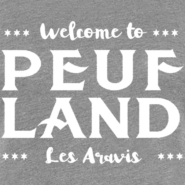 Peuf Land Aravis - White
