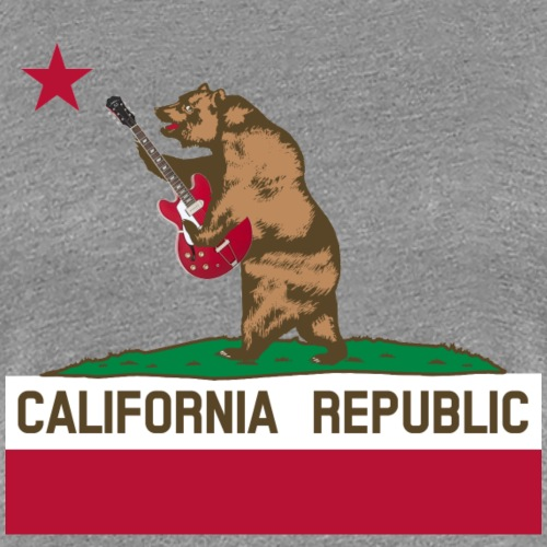 California Republic of Rock - Women's Premium T-Shirt