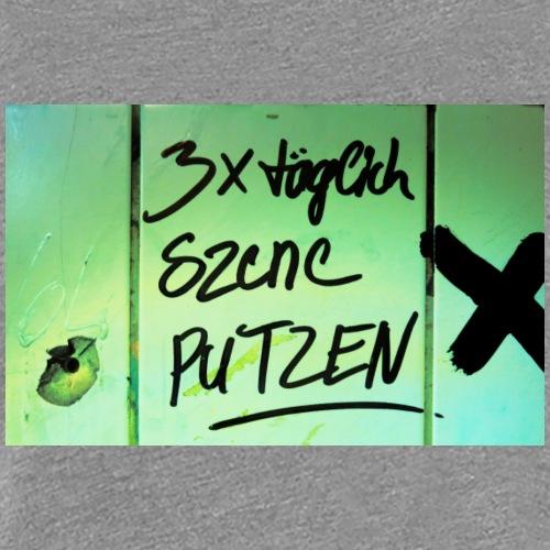 Szene Putzen - Frauen Premium T-Shirt