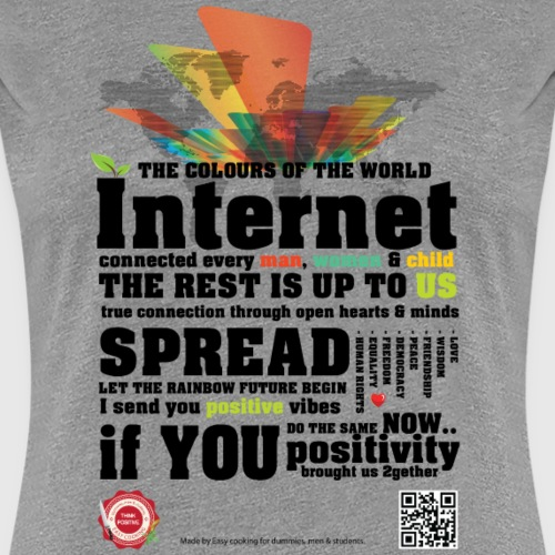 colours png - Dame premium T-shirt