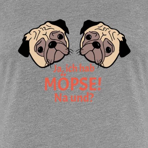 Möpse - Frauen Premium T-Shirt