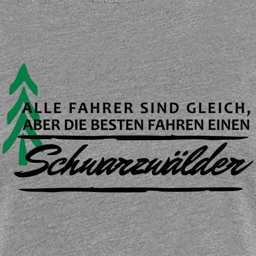 Schwarzwälderfahrer - Frauen Premium T-Shirt