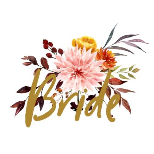 Bride - JGA - Florale Serie - Braut