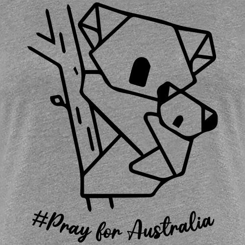 PRAY FOR AUSTRALIA - T-shirt Premium Femme