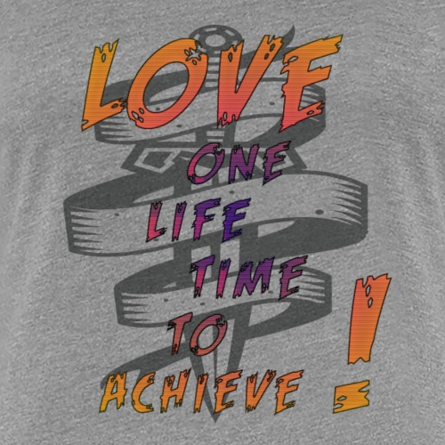 LOVE REMAINS - T-shirt Premium Femme
