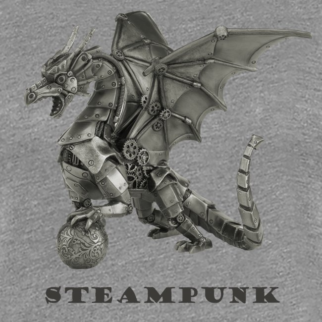 Steampunk Drachen Punk Retro