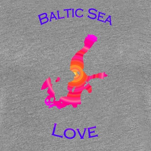 BalticSea Love pink c - Frauen Premium T-Shirt