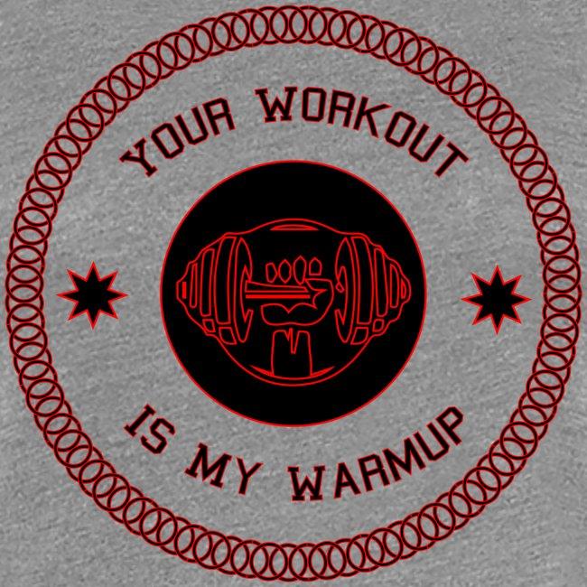 Workout Motivation lustiger Spruch