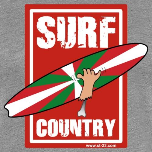 Basque surfing - Women's Premium T-Shirt