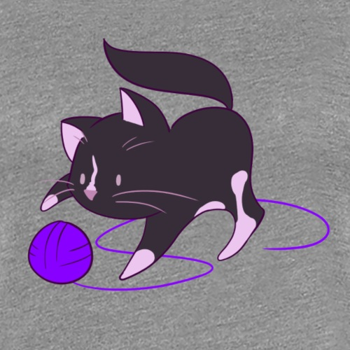 catplay - Frauen Premium T-Shirt