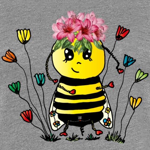 Apes fleißige Biene - Frauen Premium T-Shirt