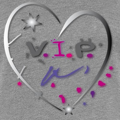 VIP Herz Liebe Stern - Frauen Premium T-Shirt