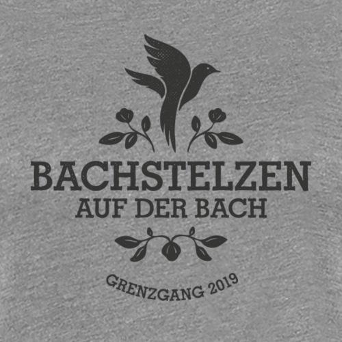 Bachstelzen Logo 1 - Schwarz