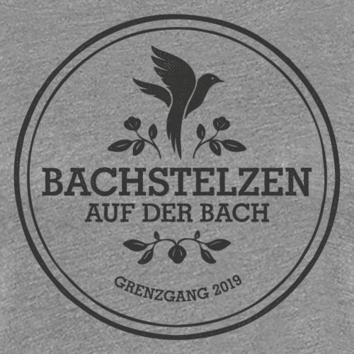 Bachstelzen Logo 2 - Schwarz