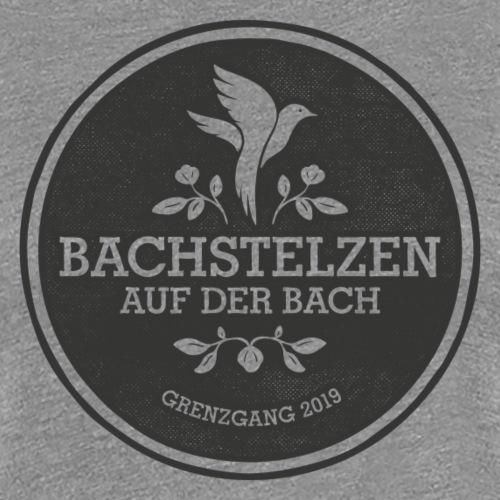 Bachstelzen Logo 3 - Schwarz