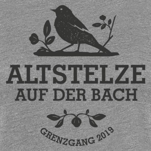 Altstelzen Logo - Schwarz