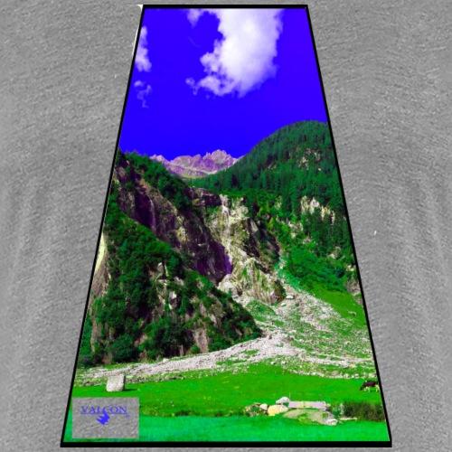 BergAUsBlick ValC - Frauen Premium T-Shirt