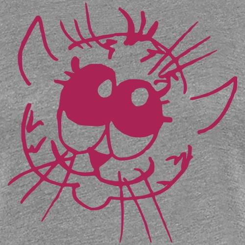 Vera s Cats Big Eyes - Women's Premium T-Shirt