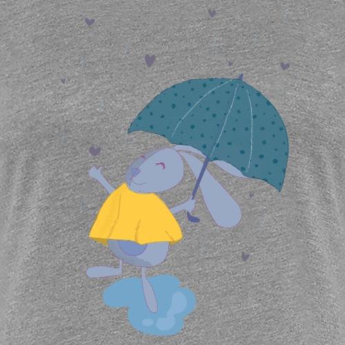 happy in the rain - Women's Premium T-Shirt